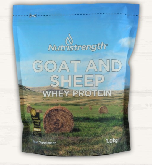 Nutristrength Goat and Sheep whey protein