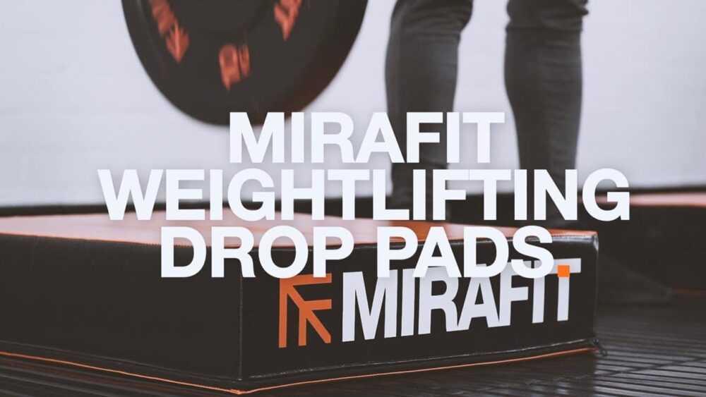 Mirafit Weightlifting Drop Pads Best Price