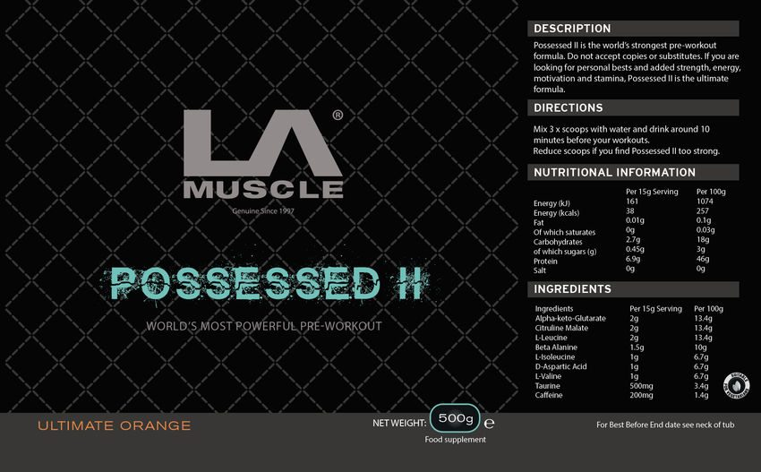 LA Muscle Possessed II Review