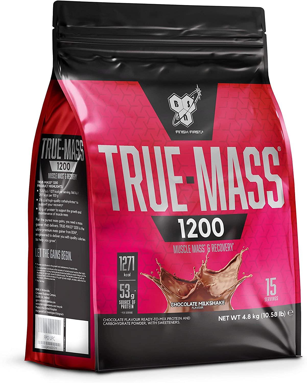 BSN True Mass 1200 - 4.8kg-Chocolate Milkshake