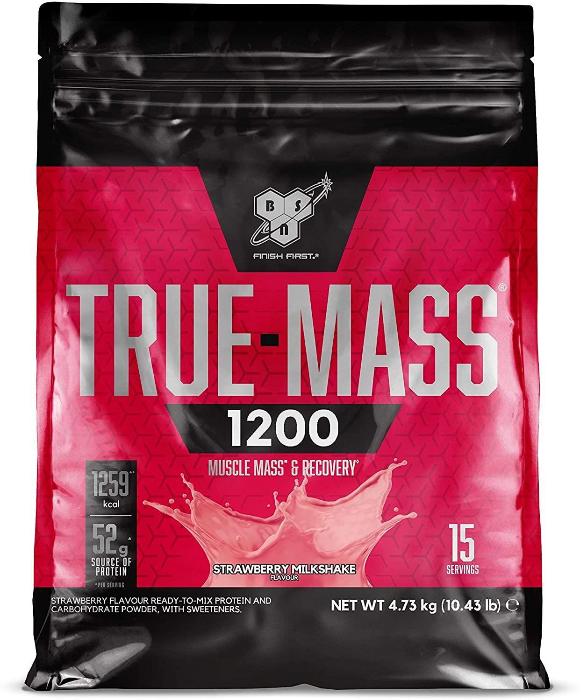 BSN True Mass 1200 - 4.8kg-Strawberry Milkshake