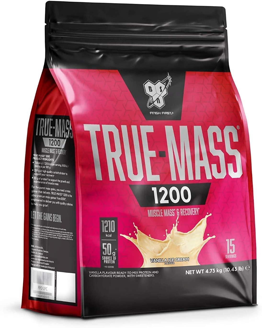 BSN True Mass 1200 - 4.8kg-Vanilla Ice Cream