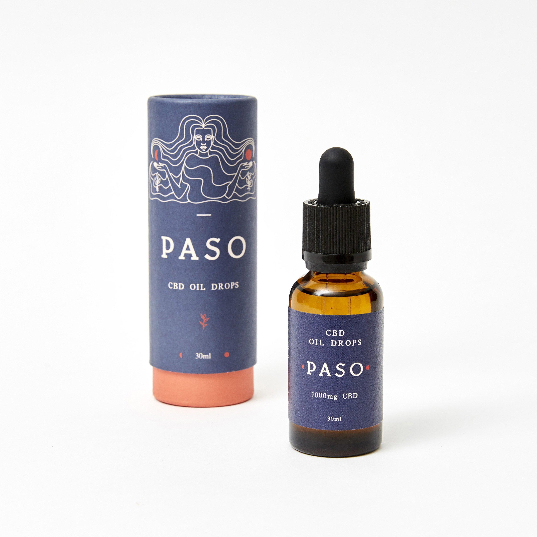 Paso CBD Oral Oil Drops