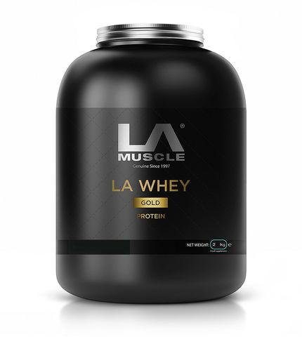 LA Whey Gold 2 kg - Strawberry