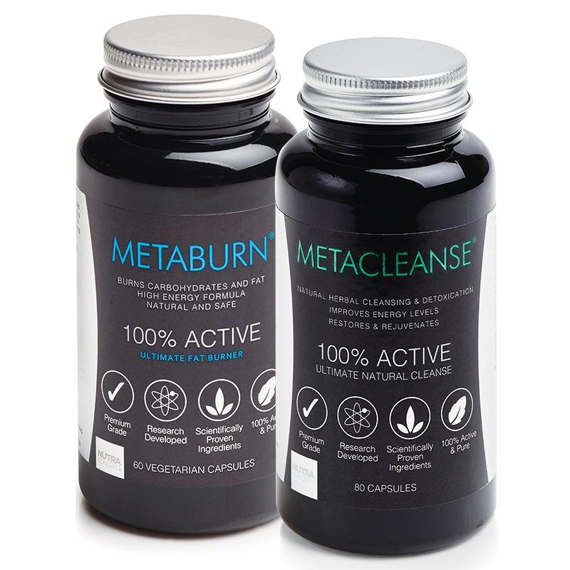 Metaburn Fat Burner & Metacleanse Detox 2 bundles