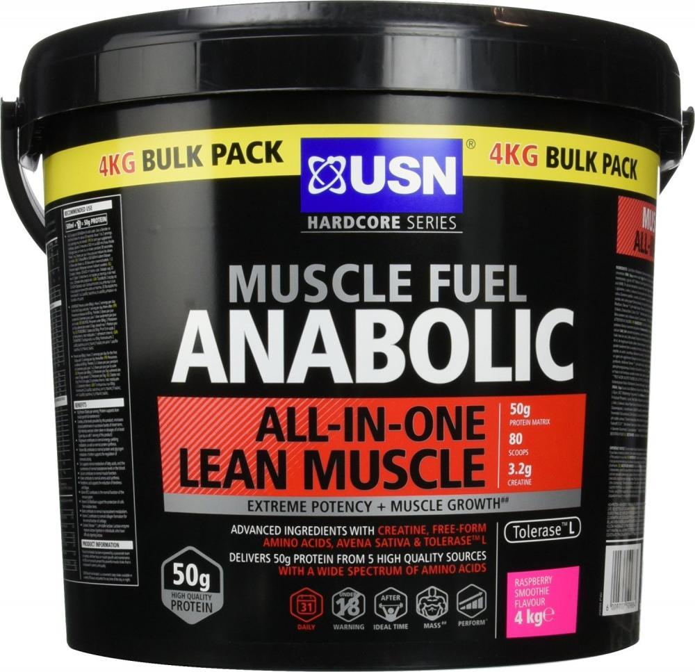 Muscle Fuel MFA Mass Gainer - 4kg Cookie and Cream Whey Protein Powder USN