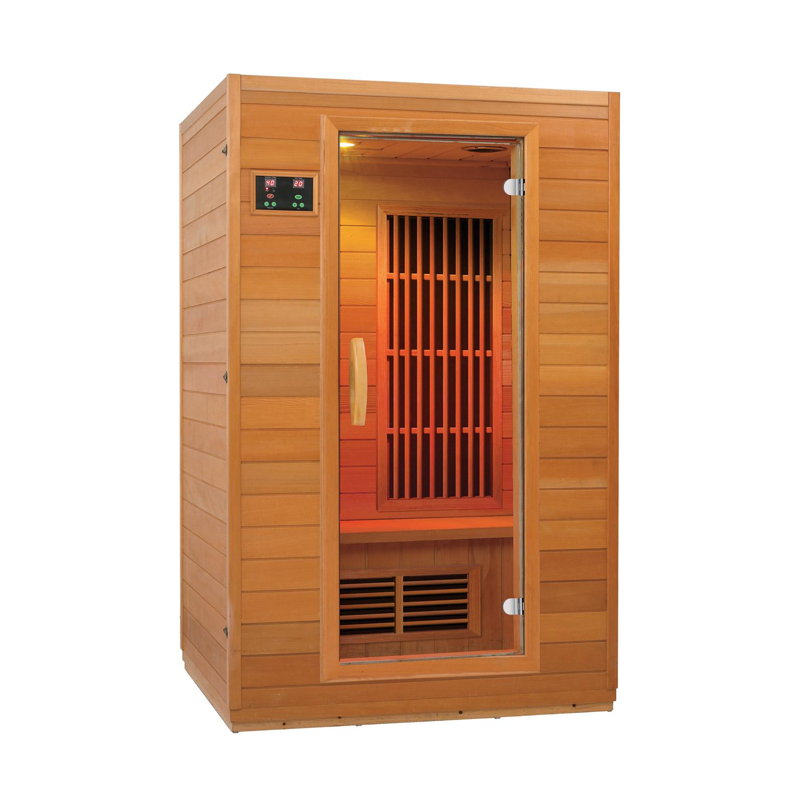New Low EMF Zen 2 Person Infrared Sauna
