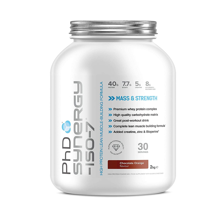 PhD Nutrition Creatine New Synergy ISO-7 / 2kg - Vanilla