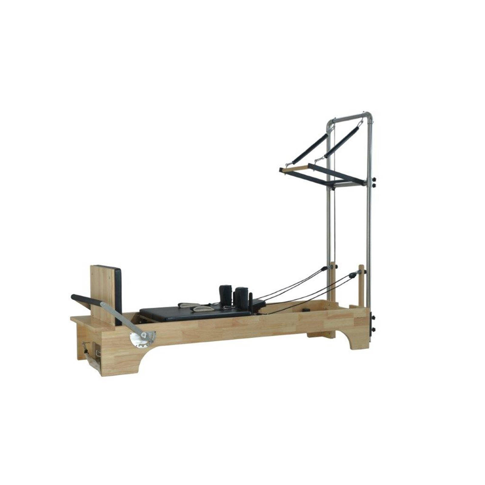 Refurbished Pilates Reformer with Half Trapeze Table