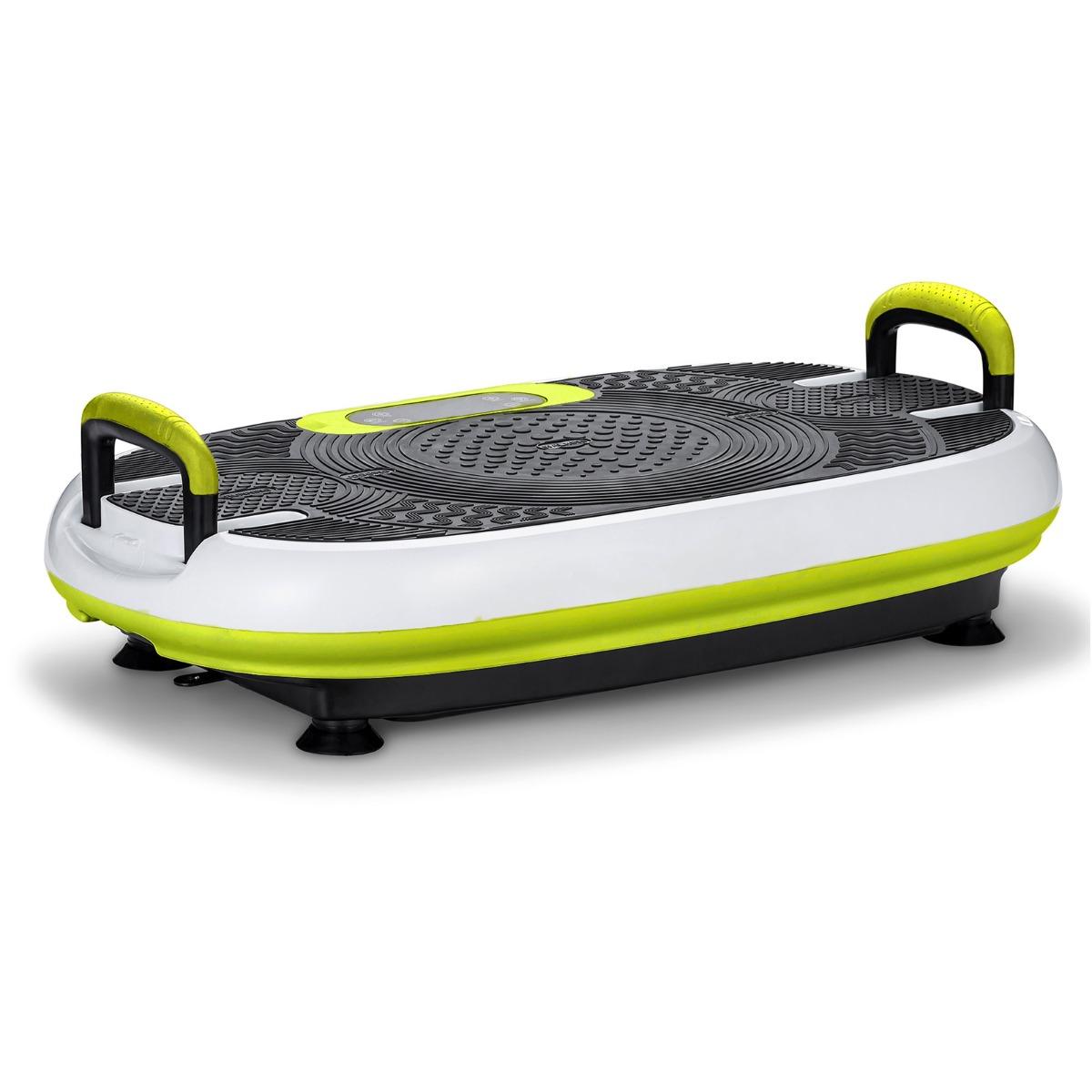 Refurbished VibroSlim Radial Plus 3D Fitness Vibration Plate - Green & White