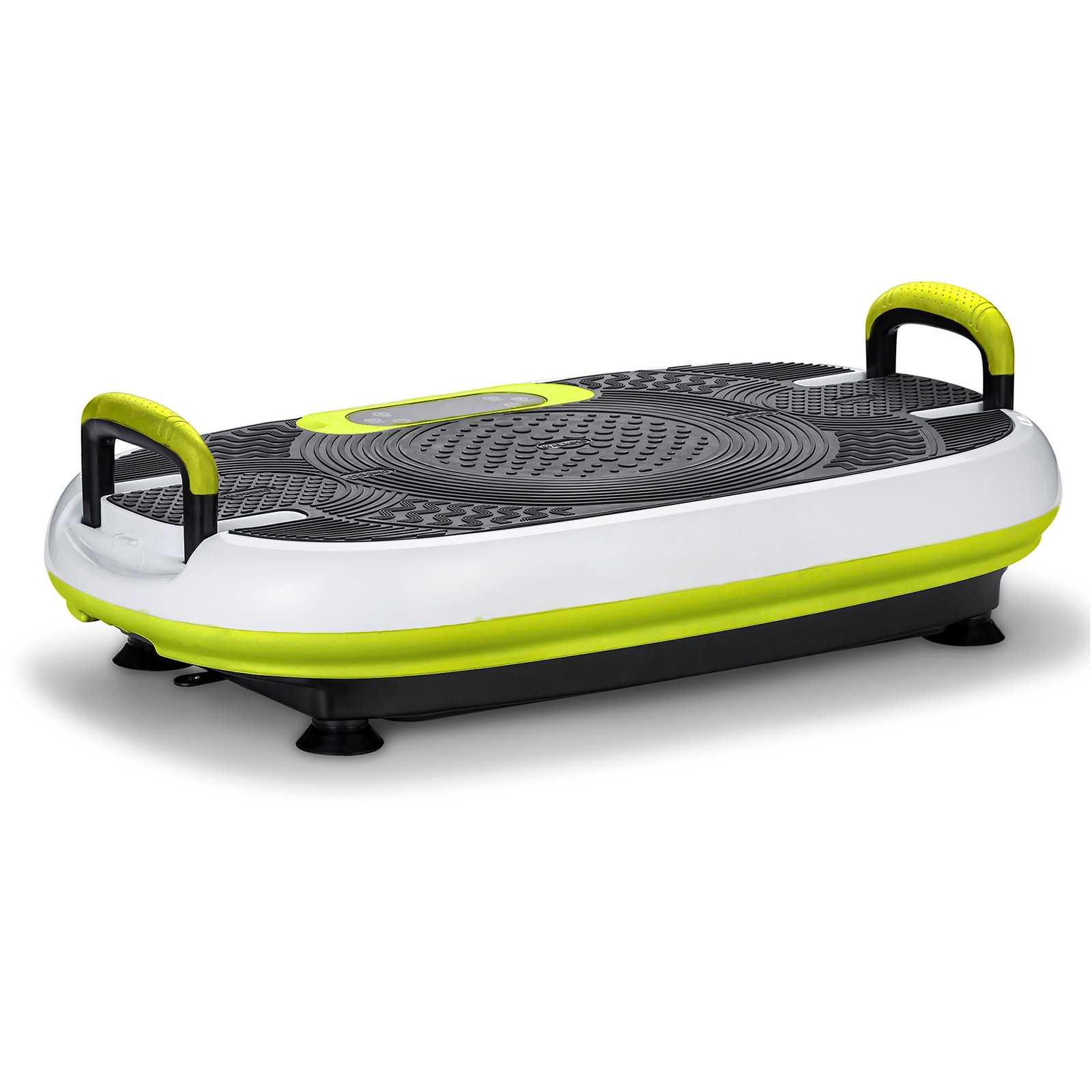 VibroSlim Radial Plus 3D Fitness Vibration Plate - Green & White