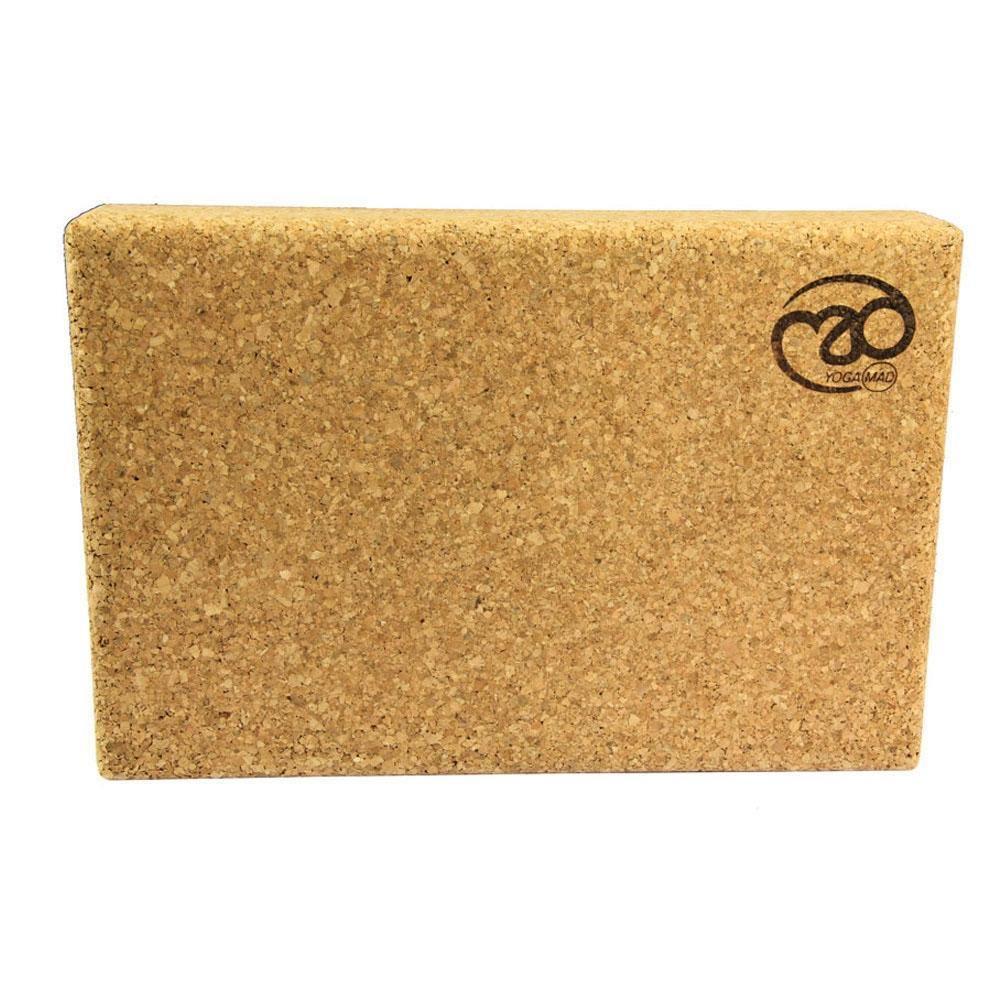 Yoga Mad Cork Yoga Block 305 x 205 x 50mm